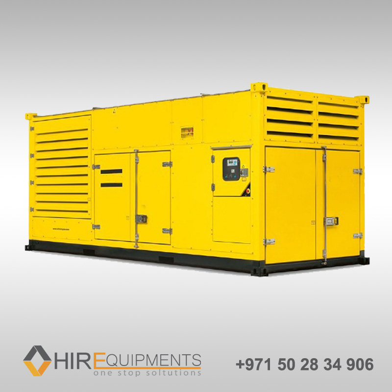 1000kva rental generators uae